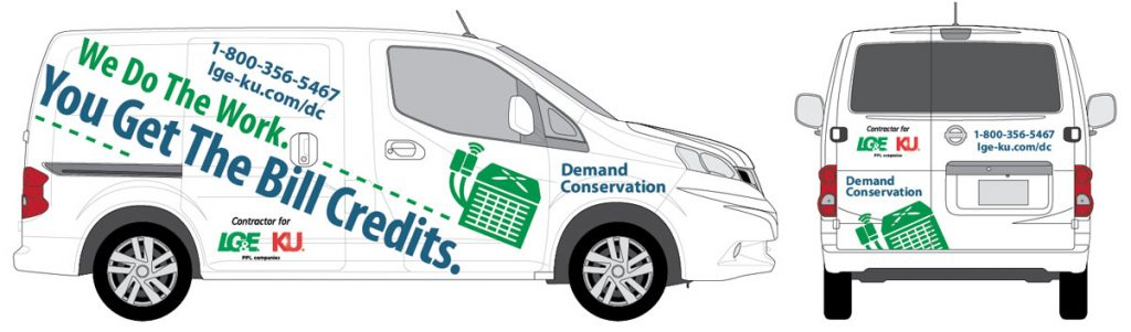 LG&E Demand Conservation Van