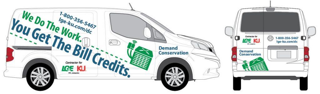 LG&E Demand Conservation Van