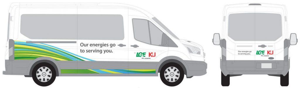 LG&E Employee Van