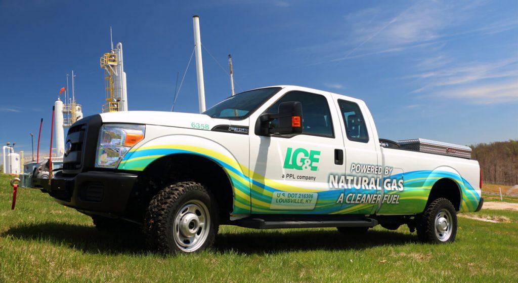 LG&E Natural Gas Truck
