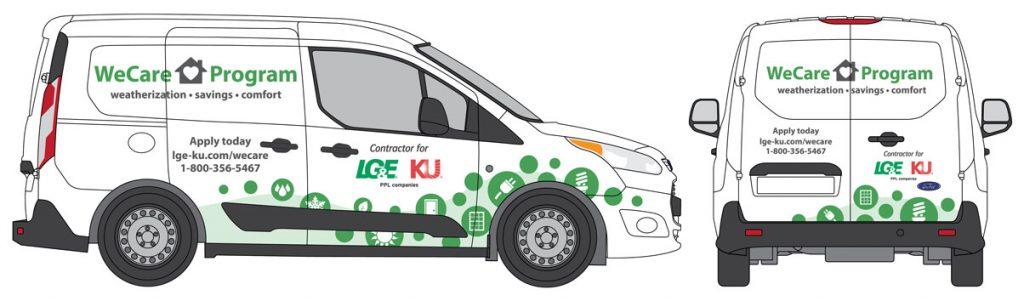 LG&E WeCare Van
