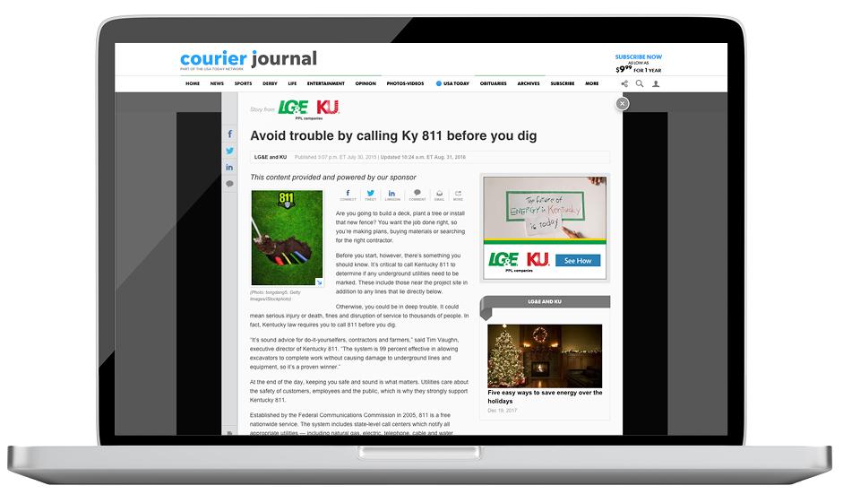 LG&E Courier Journal