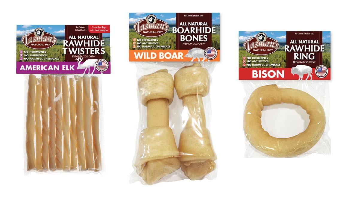 Tasman's Natural Pet Branding and Packaging