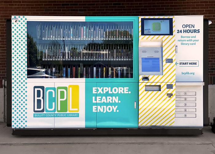 Bullitt County Public Library - 24HR Library Wrap